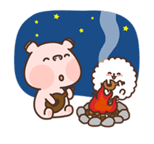 Hippo & Somi sticker #13433291