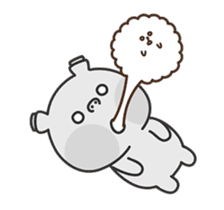 Hippo & Somi sticker #13433297