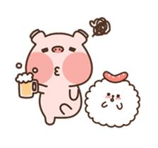 Hippo & Somi sticker #13433301