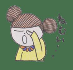 Honest person Odango-chan sticker #13435705
