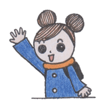 Honest person Odango-chan sticker #13435710