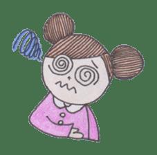 Honest person Odango-chan sticker #13435721