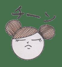 Honest person Odango-chan sticker #13435723