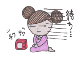 Honest person Odango-chan sticker #13435726