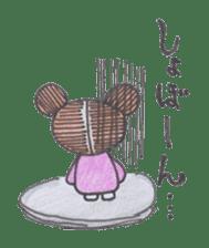 Honest person Odango-chan sticker #13435730