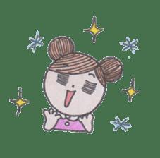 Honest person Odango-chan sticker #13435736