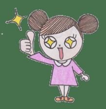 Honest person Odango-chan sticker #13435739