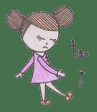 Honest person Odango-chan sticker #13435740