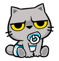 Meow Zhua Zhua - No.12 - sticker #13437279