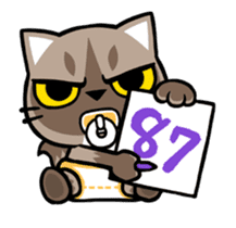 Meow Zhua Zhua - No.12 - sticker #13437285