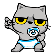Meow Zhua Zhua - No.12 - sticker #13437286