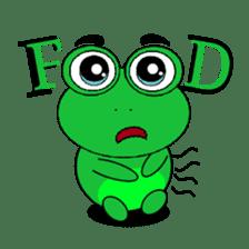 Kodochi : Si Kodok sticker #13439779