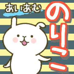 I am Noriko..