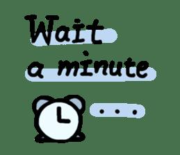 Simple Message sticker #13447365