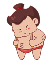 Meat Bun boy sticker #13448084