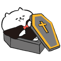 Marshmallow Cat - Mocchiri Neko - 2