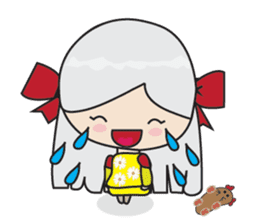 Toshi and Motta sticker #13450975