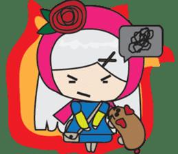 Toshi and Motta sticker #13450984