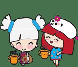 Toshi and Motta sticker #13450991