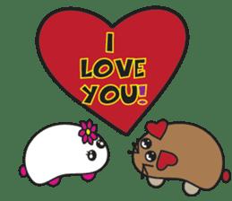 Toshi and Motta sticker #13450993