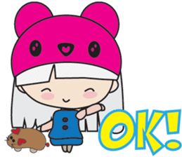 Toshi and Motta sticker #13451000