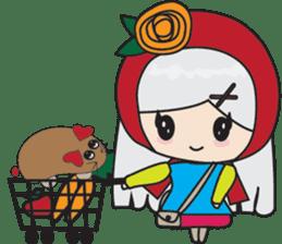 Toshi and Motta sticker #13451009