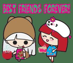 Toshi and Motta sticker #13451013