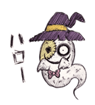 TOMMY'S HALLOWEEN MONSTERS THE REAL sticker #13453487