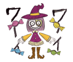 TOMMY'S HALLOWEEN MONSTERS THE REAL sticker #13453491