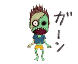 TOMMY'S HALLOWEEN MONSTERS THE REAL sticker #13453505