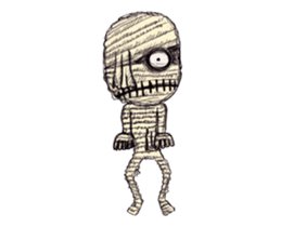 TOMMY'S HALLOWEEN MONSTERS THE REAL sticker #13453508