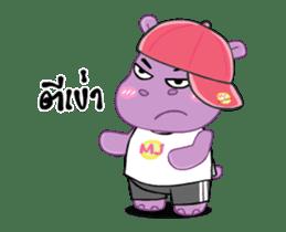 Hippo Hippy sticker #13453557