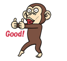 Crazy Funky Monkey2 sticker #13456255