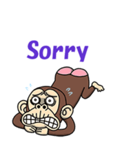 Crazy Funky Monkey2 sticker #13456257