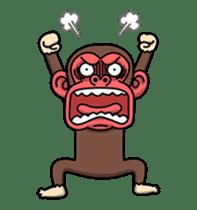 Crazy Funky Monkey2 sticker #13456258