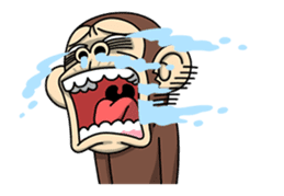 Crazy Funky Monkey2 sticker #13456259