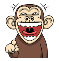 Crazy Funky Monkey2 sticker #13456262