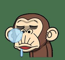 Crazy Funky Monkey2 sticker #13456266
