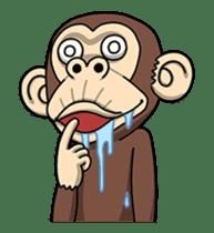 Crazy Funky Monkey2 sticker #13456267