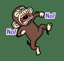 Crazy Funky Monkey2 sticker #13456269