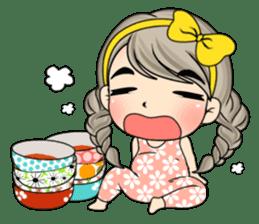 Unna mini girl (Eng) sticker #13456320