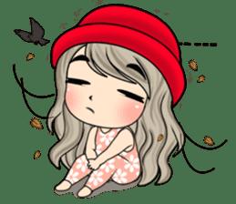Unna mini girl (Eng) sticker #13456326