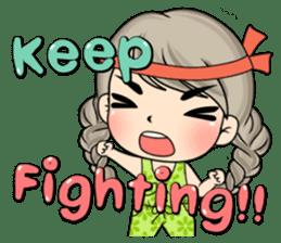 Unna mini girl (Eng) sticker #13456328
