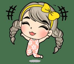 Unna mini girl (Eng) sticker #13456330