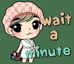 Unna mini girl (Eng) sticker #13456332