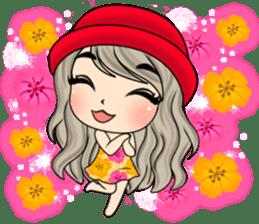 Unna mini girl (Eng) sticker #13456333
