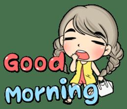 Unna mini girl (Eng) sticker #13456336