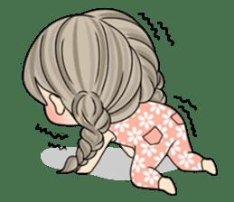 Unna mini girl (Eng) sticker #13456338