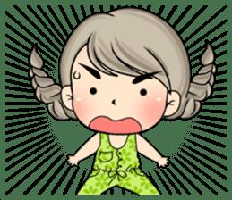 Unna mini girl (Eng) sticker #13456341