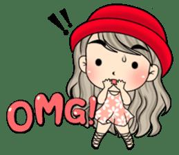 Unna mini girl (Eng) sticker #13456344